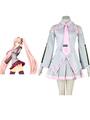 Vocaloid Sakura Hatsune Miku Anime Cosplay Costume 4292
