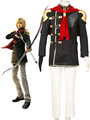 Final Fantasy Type-0 Suzaku Peristylium Class Zero NO.3 Trey Cosplay Costume Halloween 4292