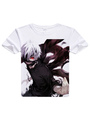 Tokyo Ghoul Kaneki Ken Anime T-Shirts 4292