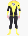 Lycra Two-Tone Unisex Zentai Suits  Halloween 4292