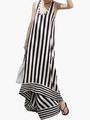 U-Neck Cut Out Sleeveless Maxi Dress 4292