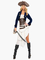 Halloween Pirate Costume Pirates of the Caribbean Costume Cosplay for Female Halloween 4292