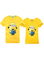 Halloween Cute Minions Cotton Movie Tee 4292