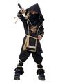 Halloween Black Ninja Costume for Kids Japanese Traditional  Costume Cosplay 4292