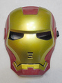 Halloween Red Iron Man Mask Costume 4292