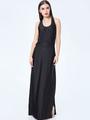 Cut Out Sleeveless Maxi Dress 4292