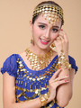 Necklace Belly Dance Costume Gold Synthetic Bollywood Dance Jewelry Accessories for Women 4292