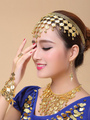 Belly Dance Costume Earrings Gold Synthetic Bollywood Dancing Jewelry Accessories for Women 4292