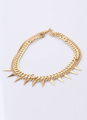 Gold Triangle Fashion Alloy Necklace for Women 4292