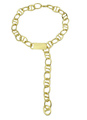 Gold Fashion Alloy Necklace For Women 4292