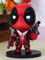 Halloween Black Red Deadpool PVC Model 4292