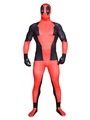 Halloween Deadpool Cosplay Super Hero Costumes Deadpool Lycra Spandex Zentai Suit Full Bodysuit 4292