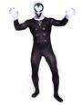 Halloween Black Vampire Lycra Spandex Zentai Halloween 4292