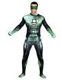 Halloween Green Superhero Lycra Spandex Zentai 4292