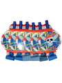 Halloween Pirate Skull Blowout Plastic Multicolor Party Toy 4292