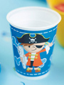 Halloween Pirate Paper Cup Multicolor Birthday Party Paper Cup 4292