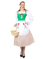 Halloween Victorian Maid Costume For Female 4292