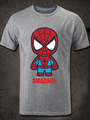 Halloween The Spiderman Short Sleeves Cotton T-Shirt 4292