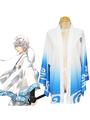 Gintama Silver Soul Gintoki Sakata Summer Kimono Anime Cosplay Costume 4292