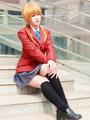 My Little Monster Mizutani Shizuku Cosplay Costume School Girl Uniform 4292