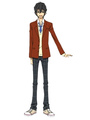 My Little Monster Yoshida Haru Cosplay Costume Boy's School Uniform 4292