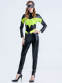 Ladies Batman Jumpsuits Women Two-stone Rompers Cosplay Costumes 4292