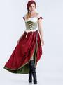 Oktoberfest Red Dress Holloween Costume For Women Halloween 4292