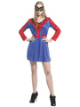 Couples Costumes 2017 Spiderman Couples Costumes Halloween Women's Spiderman Red Blue Dress Sets 4292