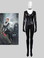 The Amazing Spider Man Black Cat Felicia Hardy Halloween Cosplay Costume 4292