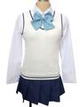 SQ: Begin W/Your Name! Qiu Tong Cosplay Costume School Girl Uniform 4292