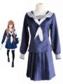 Tiger×Dragon! Aisaka Taiga Cosplay Costume Kawaii Blue School Girl Uniform 4292