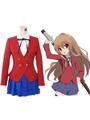 Tiger×Dragon! Aisaka Taiga Cosplay Costume Kawaii Red School Girl Uniform 4292