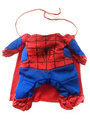 Dog Halloween Costume Spiderman Red Pet Costumes 4292