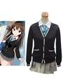 The Idolmaster Cinderella Girls Shibuya Rin Cosplay Costume School Girl Uniform 4292