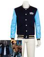 Suicide Squad El Diablo Chato Santana Cosplay Jacket Costume 4292