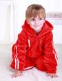 Kigurumi Pajamas World Cup Chinese Football Team Onesie Red Long Sleeve Sleepwear Costume For Kids 4292