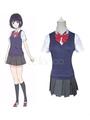 Kuzu No Honkai Scum's WishYasuraoka Hanabi Cosplay Costume School Girl Uniform 4292