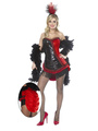 Halloween Showgirl Costume Black Women's Color Block Sequined Jumpsuit With Panties And Headpieces 4292
