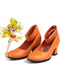 Sailor Moon Sailor Venus Aino Minako Cosplay Shoes 4292