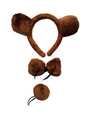 Kid Halloween Costume Bear Accessory Kits In 3 Pieces 4292