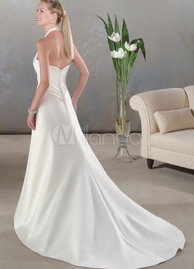 Halter Wedding Dresses - Boxweddingdress