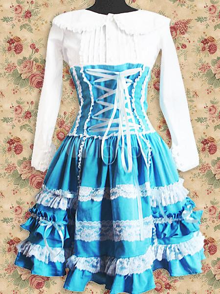 Ficha de Alicia White-And-Blue-Lolita-Dress-7804-1