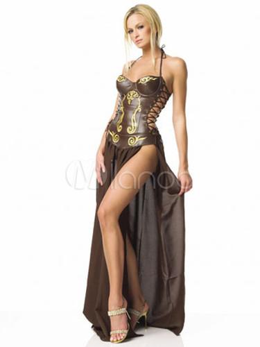 princesse esclave adulte costume d 39 halloween. Black Bedroom Furniture Sets. Home Design Ideas