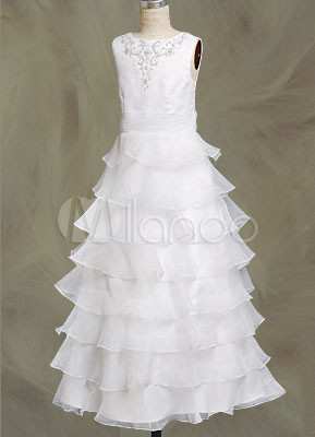 Tuscan Elegant A-Line Chapel Train Sweetheart Satin Embroidery