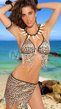Sexy Leopard Bra Set