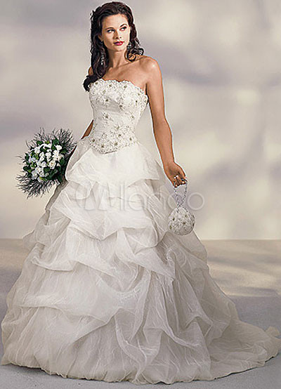 Category Wedding Apparel Wedding Dresses Strapless Wedding Dresses