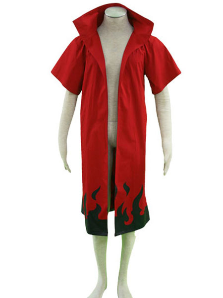Naruto Main Theme 65% Cotton 35% Polyester Cloak Cosplay Costume