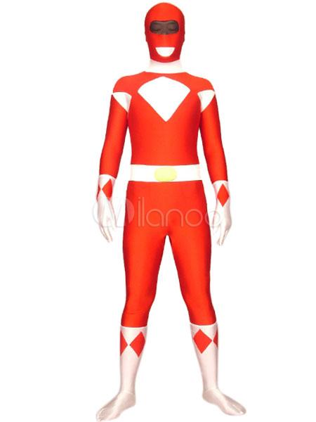 Halloween Power Rangers Zentai Suits