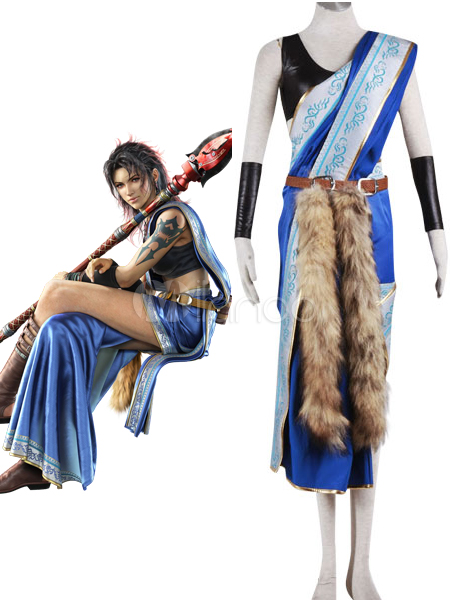 Halloween Costumes | Halloween Final Fantasy XIII Oerba Yun Fang Cosplay Costume