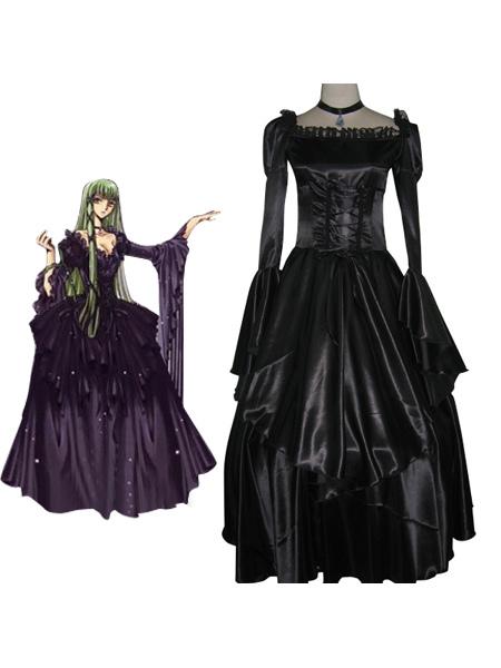 Code Geass C.C Halloween cosplay costume Halloween